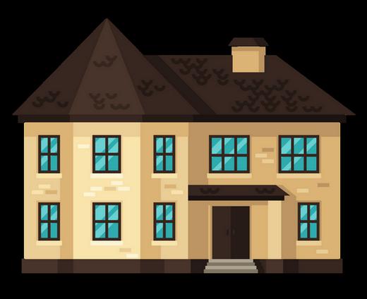 Tubes maison commerce immeuble for Maison house